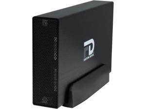 Fantom Drives 2TB USB 3.0 / eSATA Aluminum Desktop External Hard Drive GF3B2000EU Black