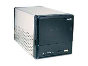 TRENDnet TS-S402 Diskless System 2-Bay SATA I/II Network Storage Enclosure