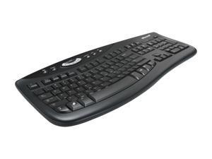 Microsoft Comfort Curve Keyboard 2000 7FH-00001 Black USB Wired Ergonomic Keyboard