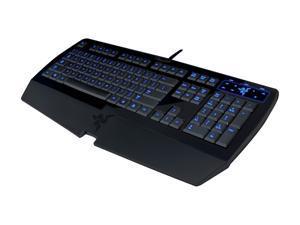 RAZER Lycosa RZ03-0018010 Black USB Standard Gaming Keyboard