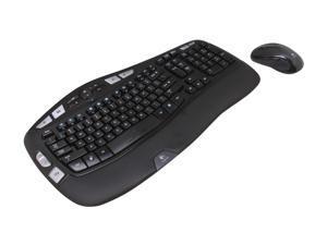 Logitech Recertified 920-002555 MK550 Black USB RF Wireless Ergonomic Wave Combo (K350 + M510)