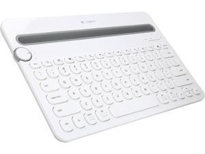 Logitech Recertified 920-006343 Bluetooth Multi-Device Keyboard K480 for Computers, Tablets and Smartphones - White