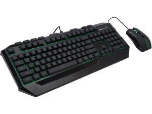 CM Storm Devastator - LED Gaming Keyboard & Mouse Combo (Green LED Model)