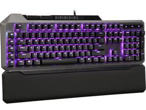 Cooler Master MK850 Gaming Mechanical Keyboard with Cherry MX Red Switches, Aimpad Technology, Precision Wheels, and RGB Illumination