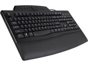 Kensington K72402US Black USB Wired Ergonomic Pro Fit Comfort Keyboard