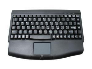 Adesso ACK-540PB MiniTouch PS/2 Mini Keyboard with touchpad (Black)
