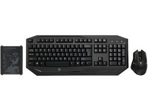 IOGEAR KeyMander Keyboard And Mouse Adapter Kit for PS4, PS3, Xbox One and Xbox 360 with Wireless Keyboard and Mouse