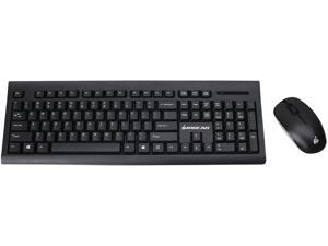 IOGEAR Long Range 2.4 GHz Wireless Keyboard and Mouse Combo GKM552RB Wireless Keyboard