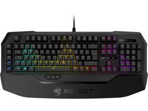 ROCCAT RYOS MK FX - RGB Mechanical Gaming Keyboard With Per-Key Illumination - Cherry MX Brown Switches