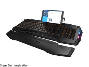 ROCCAT SKELTR Smart Communication RGB Gaming Keyboard - Black