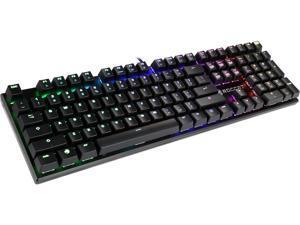 ROCCAT Suora FX - RGB Illuminated Frameless Mechanical Gaming Keyboard - Brown Switch