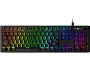 HyperX Alloy Origins Mechanical Gaming Keyboard, HyperX Red, US English Layout