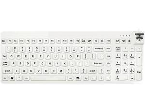 Man & Machine Low Profile Premium Waterproof Disinfectable Keyboard