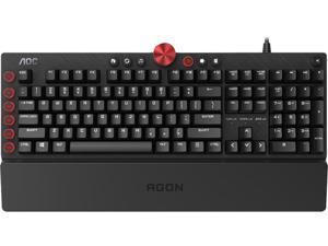 AOC AGK700 Pro-Gaming RGB Keyboard with Cherry MX Blue