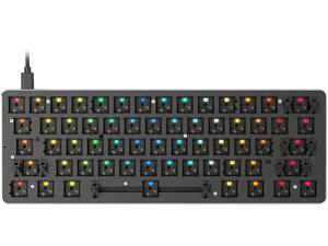 Glorious GMMK-COMPACT-RGB GMMK Compact Bare Bones Gaming Keyboard
