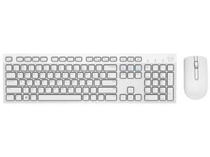 DELL Wireless Keyboard and Mouse KM636 - White 580-ADFP White Bluetooth Bluetooth Wireless Keyboard