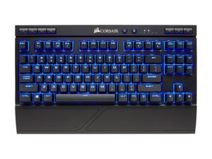 CORSAIR K63 Wireless Mechanical Gaming Keyboard, Backlit Blue LED, Cherry MX Red