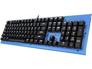 AZIO MK HUE Blue USB Backlit Mechanical Keyboard