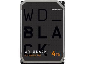 WD Black 4TB Performance Desktop Hard Disk Drive - 7200 RPM SATA 6Gb/s 256MB Cache 3.5 Inch - WD4005FZBX