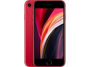 "Apple iPhone SE (2020) 4.7"" Retina Display, 64GB + 3GB RAM, 12MP Camera, GSM & CDMA Compatible, Factory Unlocked, International Version - (Product) Red)"