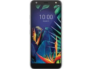 "LG K40 32GB X420AS GSM Unlocked 5.7"" IPS LCD Display 4G LTE 2GB RAM 16MP Camera Smartphone - Platinum Gray"