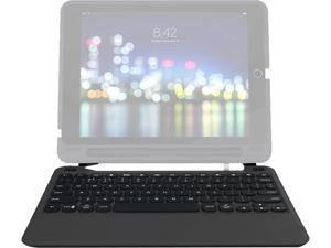 ifrogz - 103302109 - ZAGG Slim Book Go Keyboard/Cover Case for Apple 9.7 iPad - Black - Polycarbonate
