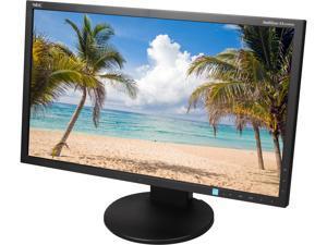 """NEC EA234WMI-BK Black 23"""" HDMI Widescreen LED Backlight Desktop Monitor"""
