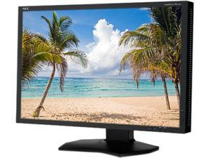 "NEC Display Solutions PA242W-BK Black 24"" Widescreen LED Backlight Height, Pivot, Swivel, Tilt 1.07 billion out of 4.3 trillion Display Colors LCD Monitor AH-IPS"