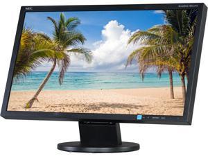 """NEC AS222WM-BK 21.5"""" HD 1920 x 1080 D-Sub, DVI-D Built-in Speakers LCD Monitor"""