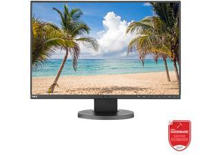 "NEC Display MultiSync EA245WMI-BK 24"" Professional AH-IPS 1920 x 1200 16:10 Monitor with 6ms Response Rate, 1000:1 Contrast, DisplayPort, HDMI, DVI-D and VGA"