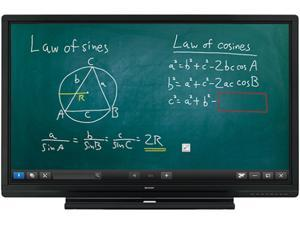 """Sharp AQUOS BOARD PN-C605B 60"""" Full HD Interactive LCD Display System with 10-Point Infrared Touch"""