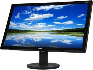 "Acer K2 Series K242HQL cbid 23.6"" TN 1ms (GTG) Black Widescreen LED/LCD Monitor 1920 x 1080 FHD at 60 Hz Refresh Rate, Eco Friendly Design, Visual Comfortable W/D-sub HDMI, and DVI Connectivity"