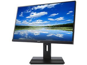 """Acer B276HUL 27"""" 60Hz WQHD 2560 x 1440 2K Monitor with HDMI, DisplayPort, USB, Built-in Speakers, Height Adjustable, Swivel, Tilt and VESA Mount Compatible"""