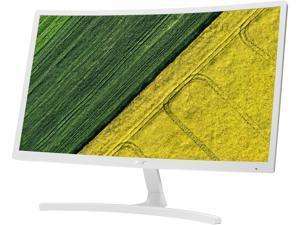 """Acer ED242QR wi 24"""" (Actuals size 23.6"""") Full HD 1920 x 1080 75Hz HDMI VGA AMD FreeSync Tilt Adjustable Backlit LED Curved Gaming Monitor"""