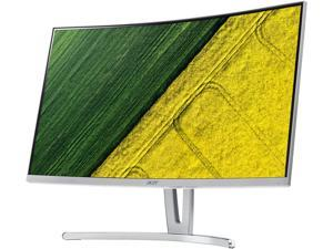 "Acer ED273 wmidx 27"" Curved FreeSync 1920 x 1080 Full HD 75Hz Gaming Monitor, 3,000:1 Contrast, 2 x 2W Speakers, VGA, DVI, HDMI, Tilt"