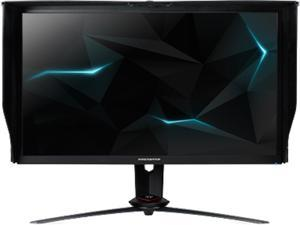 "Acer Predator XB3 XB273K Sbmiprzx 27"" Ultra HD 3840 x 2160 4K 4ms (GTG) 120Hz (144Hz OC) HDMI DisplayPort NVIDIA G-Sync DisplayHDR 400 Quantum Dot Built-in Speakers Backlit LED IPS Gaming Monitor"