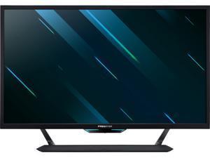 "Acer Predator CG437K 43"" Ultra HD 3840 x 2160 4K 1ms (VRB) 120Hz 3xHDMI 2xDisplayPort HDR1000 NVIDIA G-SYNC Compatible USB 3.0 Hub Built-in Speakers Backlit LED Gaming Monitor"