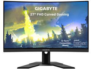 "GIGABYTE G27FC 27"" 165Hz 1080P Curved Gaming Monitor, 1920 x 1080 VA 1500R Display, 1ms (MPRT) Response Time, 90% DCI-P3, FreeSync Premium, G-Sync Compatible Ready, 1x Display Port 1.2, 2x HDMI 1.4"