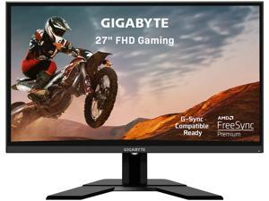 "GIGABYTE G27F 27"" 144Hz 1080P Gaming Monitor, 1920 x 1080 IPS Display, 1ms (MPRT) Response Time, 95% DCI-P3, FreeSync Premium, G-Sync Compatible Ready, 1x Display Port 1.2, 2x HDMI 1.4, 2x USB 3.0"