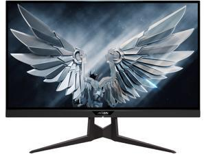 """AORUS FI27Q-P 27"""" Frameless Gaming Monitor, QHD 1440p, 95% DCI-P3 Color Accurate IPS Panel, 1ms 165Hz, HDR, G-SYNC Compatible and FreeSync Premium, VESA"""