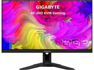 """GIGABYTE M28U 28"""" 144Hz 2160P UHD 3840 x 2160 4K SS IPS, 1ms (GTG), 94% DCI-P3, HDR Ready, FreeSync Premium Pro, 1 x DisplayPort 1.4, 2 x HDMI 2.1, 3 x USB 3.0, 1 x USB Type-C KVM Gaming Monitor"""
