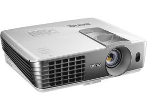 "BenQ HT1075 Full HD 3D Wireless Projector, 2200 ANSI Lumens, 10000:1 Contrast Ratio, 40"" - 235"" Image Size, USB"
