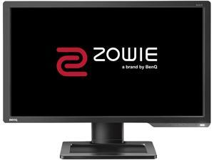 "BenQ ZOWIE XL Series XL2411P Dark Gray 24"" 144Hz Full HD 1920 x 1080 1ms (GTG) DVI HDMI DisplayPort eSports Gaming Monitor, Height Adjustable Stand"