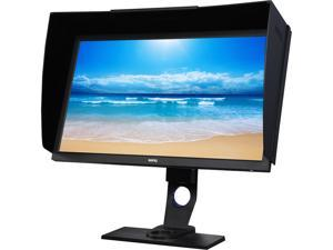 "BenQ SW2700PT 27"" QHD 2560 x 1440 (2K) 5ms (GTG) 60 Hz DVI, HDMI, DisplayPort IPS Photographer Monitor, 99% Adobe RGB, 100% Rec.709/sRGB, Hardware Calibration, Shading Hood, Palette Master"