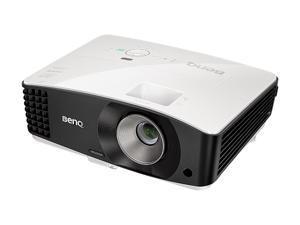 "BenQ MU686 High Brightness WUXGA Businees Projector, 3500 ANSI Lumens, 20000:1 Contrast Ratio, 30""-300"" Image Size, D-Sub, HDMI x 2, USB, Composite Video, S-Video, Built-in Speaker"