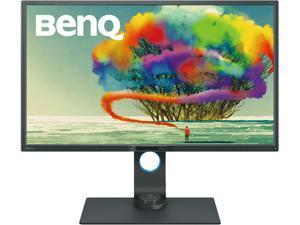 "BenQ PD3200U 32"" 3840 x 2160 4K IPS Monitor, 100% Rec. 709 and sRGB, 20M:1 DCR, Height Adjustable, VESA Ready, HotKey Puck, Built-in Speakers"
