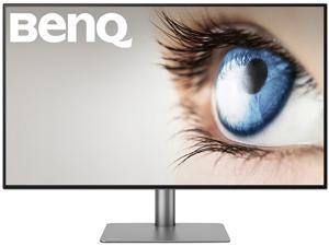 "BenQ DesignVue Designer PD2720U 27"" Ultra HD 3840 x 2160 4K 60Hz 2xHDMI DisplayPort 2xThunderbolt 3 Built-in Speakers Zero-Flicker Low Blue Light Anti-Glare Backlit LED IPS Monitor"