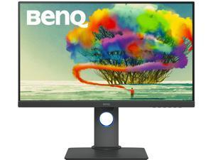 """BenQ DesignVue PD2705Q 27"""" Quad HD 2560 x 1440 2K 5ms (GTG) 60Hz HDMI DisplayPort USB Type-C Built-in Speakers Anti-Glare Backlit LED Designer IPS Monitor"""