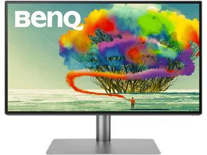 "BenQ PD2725U 27"" UHD 3840 x 2160 (4K) 60 Hz VESA DisplayHDR 400 HDMI, DisplayPort, Thunderbolt 3, USB, Headphone Jack Built-in Speakers IPS Monitor"