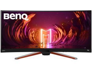 "BenQ EX3415R 34"" UWQHD 3440 x 1440 (2K) 144 Hz 1 ms (MPRT) DisplayHDR 400, HDMI, DisplayPort, USB, Audio, FreeSync Premium (AMD Adaptive Sync) Built-in Speakers Curved IPS Gaming Monitor"